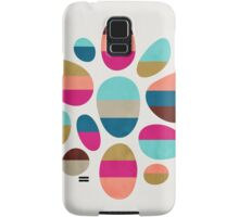 Color-Blocked Pebbles #2 Samsung Galaxy Case/Skin