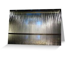 Waterfall and Reflection ~ Guinness Brewery Greeting Card