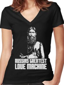 Rasputin Women's Fitted V-Neck T-Shirt