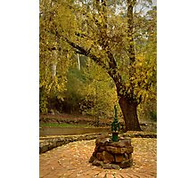 Pump,Central Springs Daylesford Photographic Print