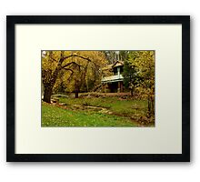 Autumn, Central Springs, Daylesford Framed Print