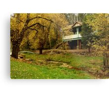Autumn, Central Springs, Daylesford Metal Print