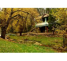 Autumn, Central Springs, Daylesford Photographic Print