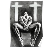 homage on religion...pencil Poster