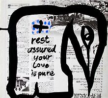 rest assured your love is pure by donnamalone