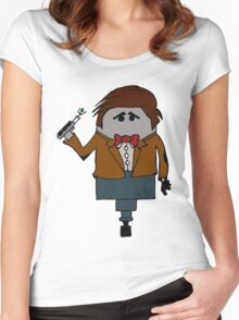 The Eleventh Doctor Women's Fitted Scoop T-Shirt
