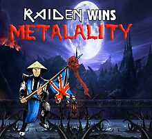 Raiden Wins Metalality by Monty's Island