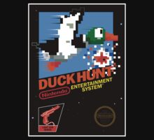 DUCK HUNT NES Box cover by ruter