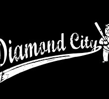 Fallout 4 - Diamond City by ghosthousedsign