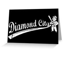 Fallout 4 - Diamond City Greeting Card
