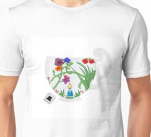 You're Late For Tea! (No Text) Unisex T-Shirt