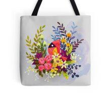 Pretty Cardinal Tote Bag