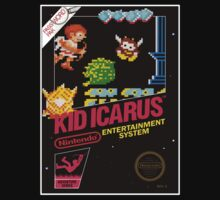 KID ICARUS NES Box cover by ruter