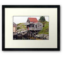 Blue Rocks Nova Scotia Framed Print