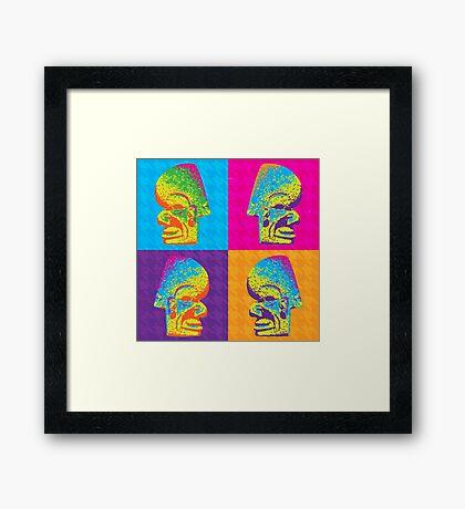 Ax Head Framed Print