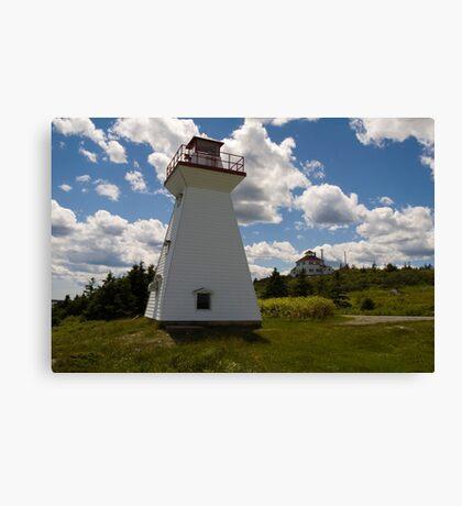 Port Medway Nova Scotia Canvas Print