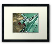 1959 Caddy Tail Lights Framed Print