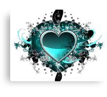 Green Hearth Canvas Print