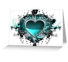 Green Hearth Greeting Card