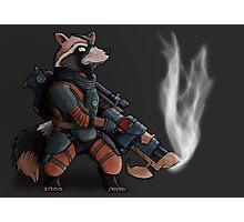 Rocket Raccoon Photographic Print