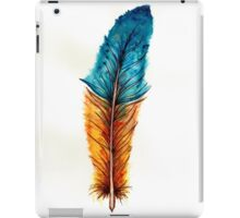 Watercolor feather iPad Case/Skin