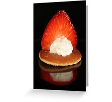 Mini Pancake Greeting Card