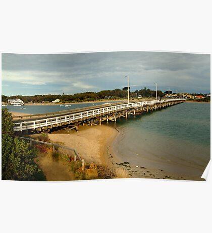 Barwon Heads Bridge,Bellarine Peninsula Poster