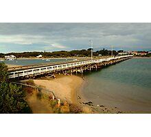 Barwon Heads Bridge,Bellarine Peninsula Photographic Print