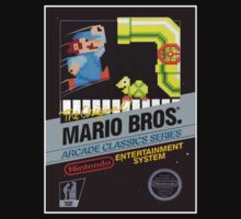 MARIO BROS NES Box cover by ruter