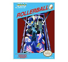 ROLLERBALL NES Box cover Photographic Print