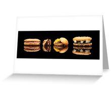 mini sandwiches Greeting Card