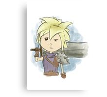 Final Fantasy VII Cloud Strife Canvas Print