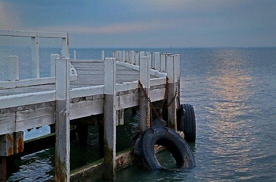 Pt Richards Jetty, Bellarine Peninsula by Joe Mortelliti