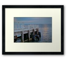 Pt Richards Jetty, Bellarine Peninsula Framed Print