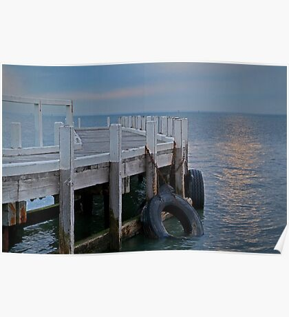 Pt Richards Jetty, Bellarine Peninsula Poster