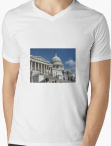 Pentagon Washington Mens V-Neck T-Shirt