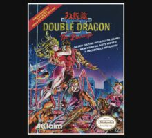 DOUBLE DRAGON NES Box cover by ruter
