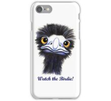 Watch the Birdie iPhone Case/Skin