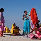 Pilgrims. Junagadh by Claude  Renault