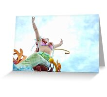World Above Greeting Card