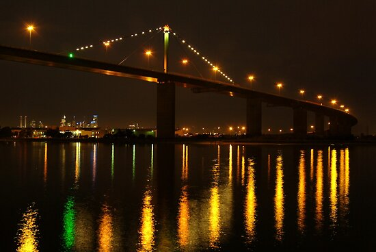 West Gate Bridge,Melbourne by Joe Mortelliti