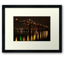West Gate Bridge,Melbourne Framed Print