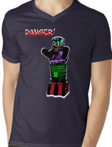 the robot t-shirt Mens V-Neck T-Shirt