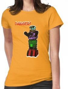 the robot t-shirt Womens Fitted T-Shirt