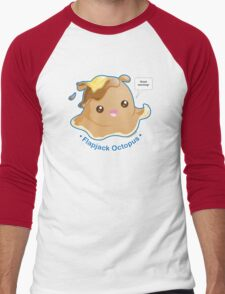 Cute Flapjack Octopus Men's Baseball ¾ T-Shirt