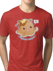 Cute Flapjack Octopus Tri-blend T-Shirt