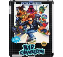 Kid Chameleon Genesis Megadrive Sega Box cover iPad Case/Skin