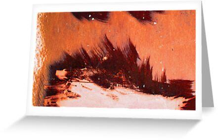 brush fire by Lynne Prestebak