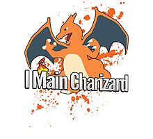 I Main Charizard - Super Smash Bros. Photographic Print
