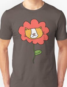 Cat Flower Power! Unisex T-Shirt